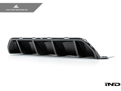 AutoTecknic Dry Carbon Competition Rear Diffuser - F90 M5