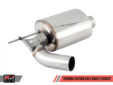 AWE Tuning BMW F3X 340i /440i Touring Edition Axle-Back Exhaust - Diamond Black Tips (102mm)