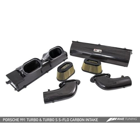 AWE Tuning Porsche 991 (991.2) Turbo and Turbo S S-FLO Carbon Intake