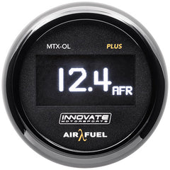 Innovate MTX-OL PLUS Wideband Digital Air/Fuel Ratio OLED Gauge Kit 3ft w/O2 Sensor
