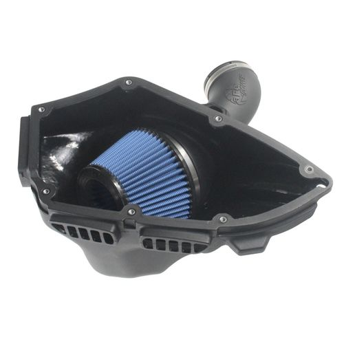 aFe POWER Magnum FORCE Stage-2 Si Cold Air Intake System - Black Trim w/Pro 5R Filter Media BMW 3-Series (E9X) 06-13 L6-3.0L (Non Turbo) N52/N53