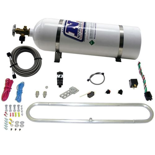 Nitrous Express N-Tercooler System for CO2 w/15lb Bottle (Remote Mount Solenoid)