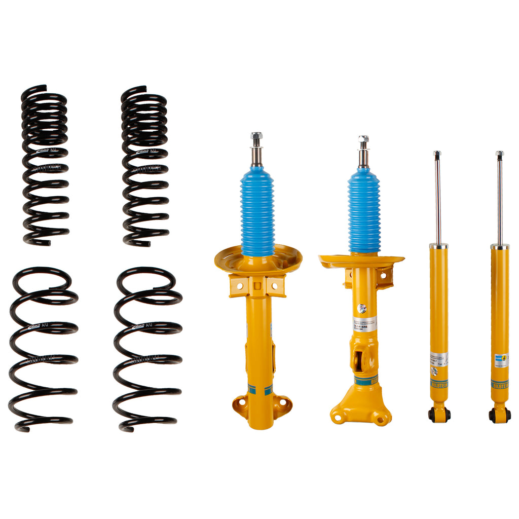 Bilstein B12 (Pro-Kit) Mercedes-Benz C250 | C300 | C350 | E350 | E400 | E550 Suspension Kit