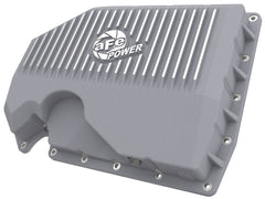 aFe POWER Street Series Engine Oil Pan Raw w/ Machined Fins (w/o Oil Sensor)