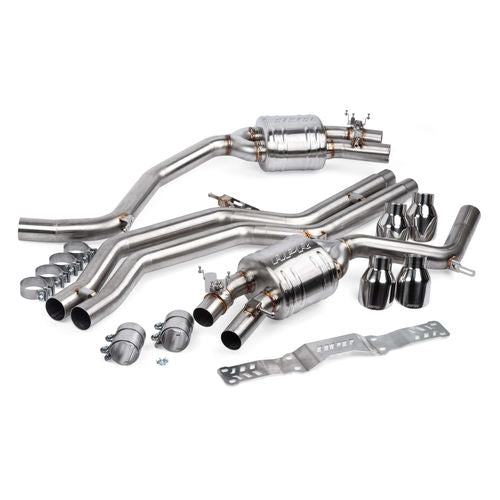 APR Catback Exhaust System - 4.0 TFSI - C7 S6 and S7
