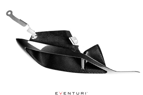 Eventuri A90 Supra Carbon Headlamp Duct
