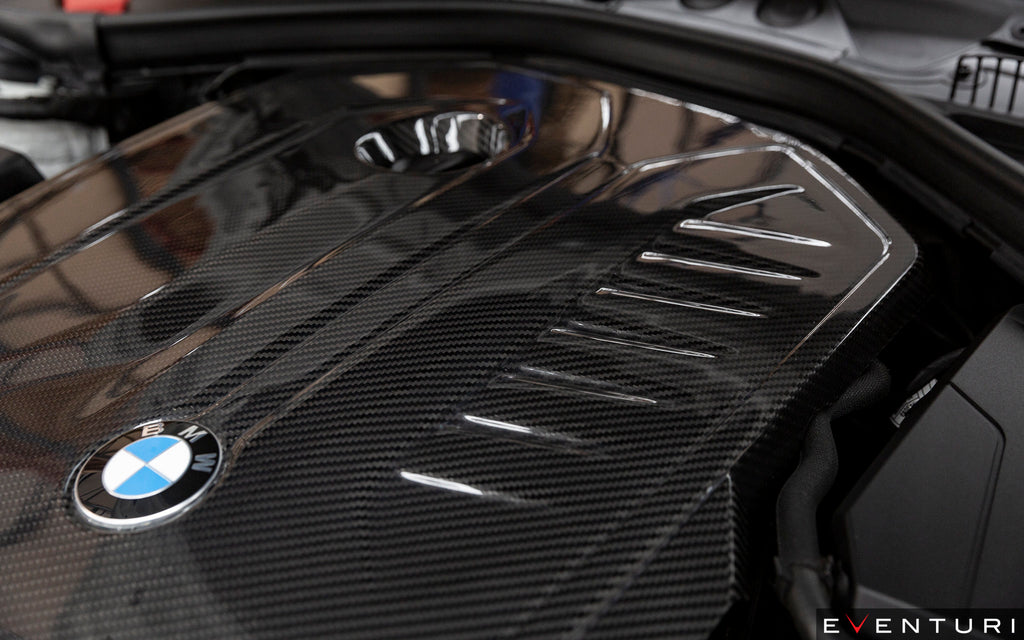 Eventuri BMW M240i (F22) | M340i (F30) | 440i (F32/F36) B58 Carbon Engine Cover