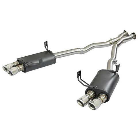 aFe POWER MACH Force-Xp 2-1/2in 304 SS Cat-Back Exhaust w/Polished Tips 05-08 BMW Z4 M Coupe (E86) L6 3.2L
