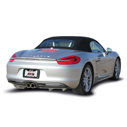 Borla Porsche 981 Cayman/ Cayman S/ Boxster/ Boxster S 2013-2016 Cat-Back™ Exhaust S-Typ