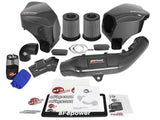 aFe POWER Black Series Momentum Carbon Fiber Cold Air Intake System w/Pro DRY S Filter Media BMW M3 (F80) 15-18 /M4 (F82/F83) 15-20/ M2 Competition (F87) 19-20 L6-3.0L (tt) S55