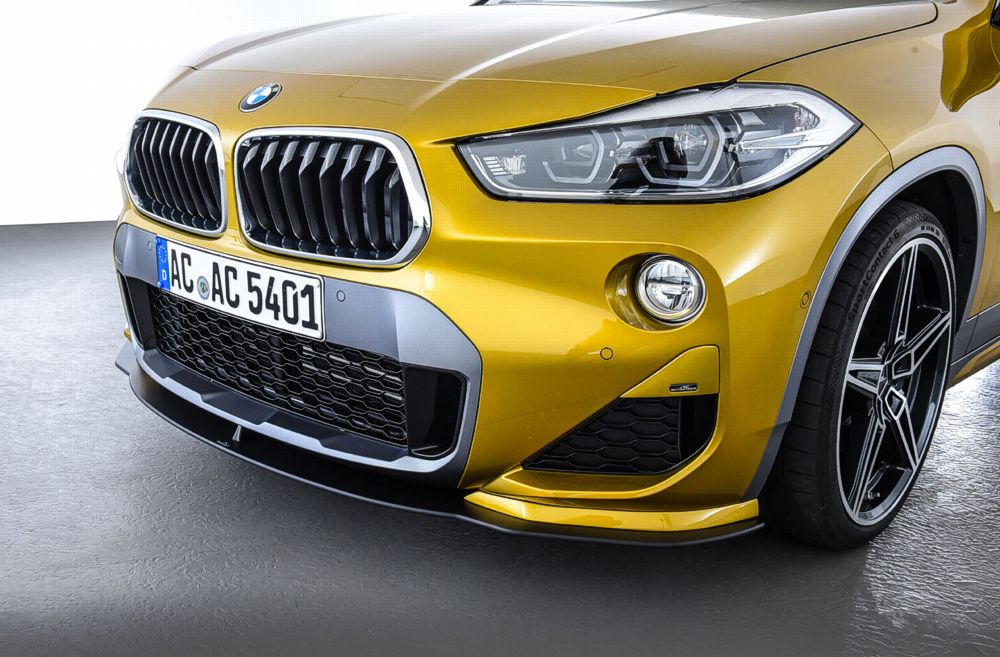 AC Schnitzer front Splitter set for the BMW X2 F39