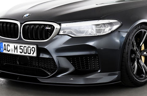 AC Schnitzer Carbon Front Spoiler Elements for the BMW M5 F90