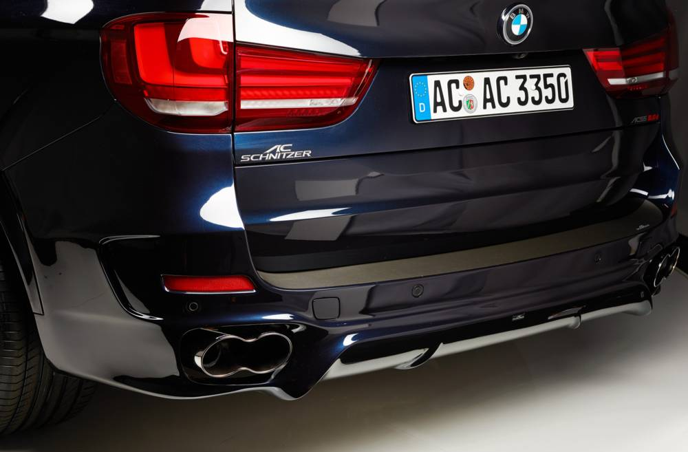 AC Schnitzer rear Bumper BMW X5 F15 (without M Package)