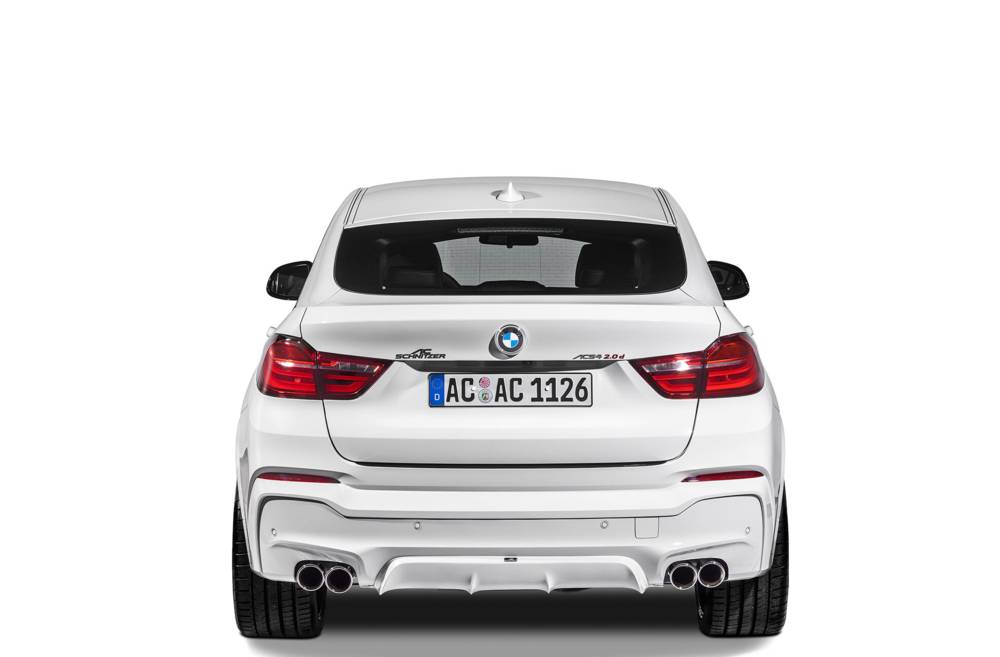 AC Schnitzer rear Diffusor BMW X4 F26 (with M-Package)