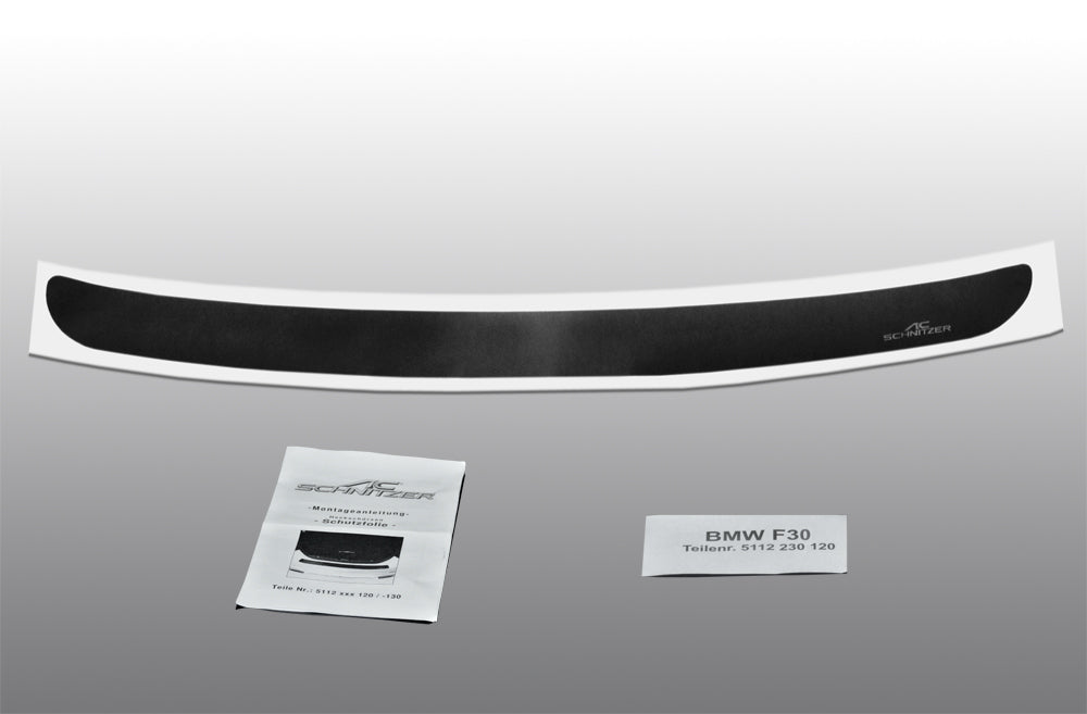 AC Schnitzer rear Bumper Protective Film BMW 3 Series F30 Sedan