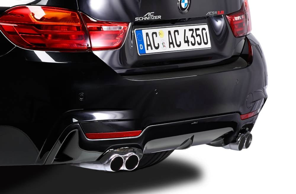AC Schnitzer rear skirt extention kit BMW 4 Series F32/F33 (with PDC)