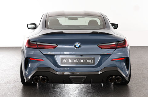 AC Schnitzer Carbon Fiber Rear Diffuser for BMW 8 Series for cars with M-sport package SA 337 or M-technic SA 715 G114/G15