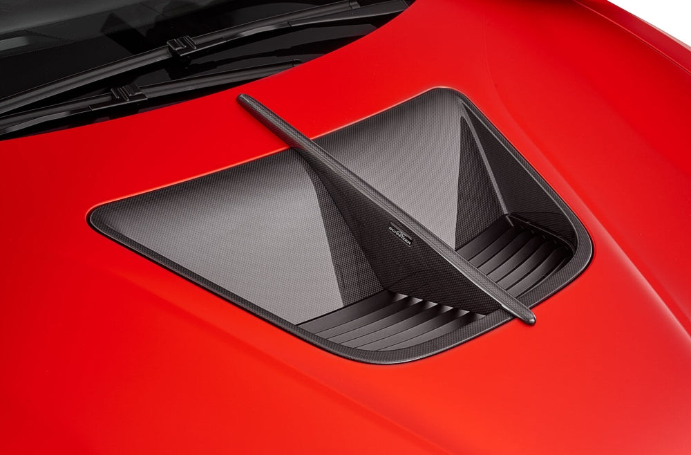 AC Schnitzer Carbon Bonnet Vent with middle strut for the BMW i8  - I12 Coupe