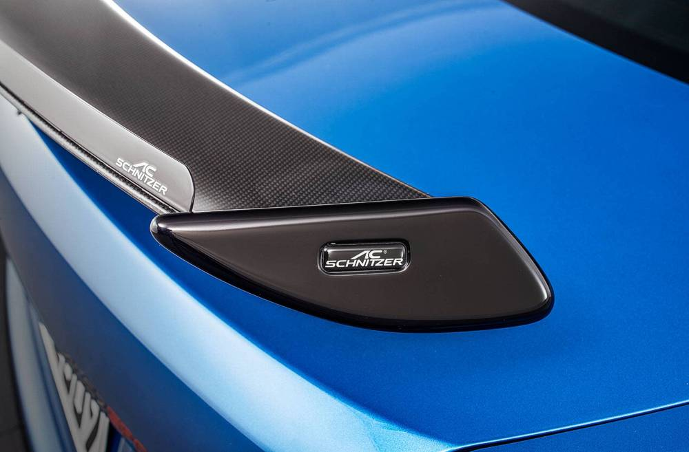 "AC Schnitzer Carbon Gurney Flap for ""Racing"" rear Wing BMW X4 F26"