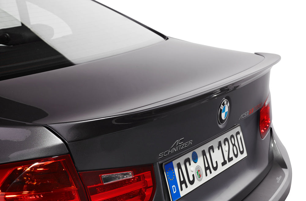 AC Schnitzer Trunk rear Spoiler BMW 3 Series F30 Sedan
