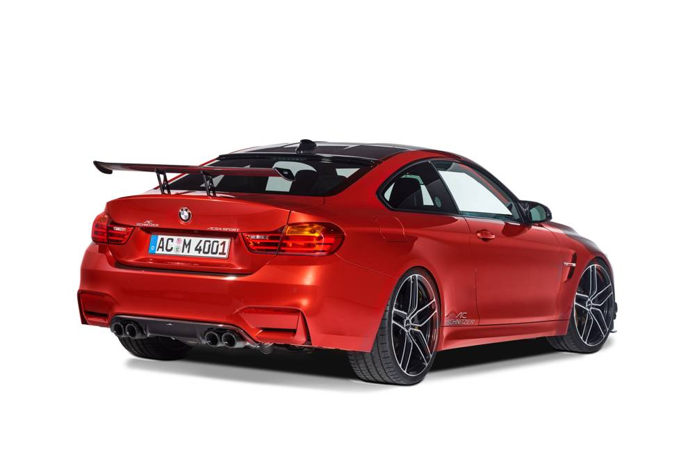 "AC Schnitzer ""Racing"" Carbon Fiber rear Wing for the BMW M4 F82 High extension"