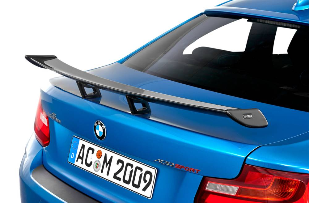 "AC Schnitzer ""Racing"" Carbon Fiber Rear Wing BMW M2 F87"
