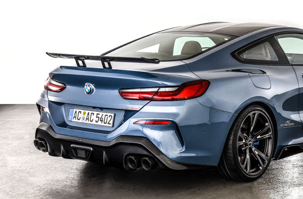 "AC Schnitzer ""Racing"" Carbon Fiber Rear Wing BMW 8 Series G15 Coupe"