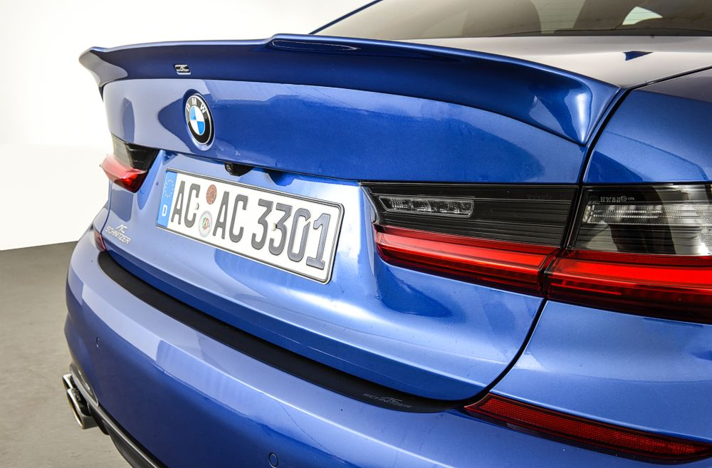 AC Schnitzer Trunk Spoiler for BMW 3 Series G20 Sedan