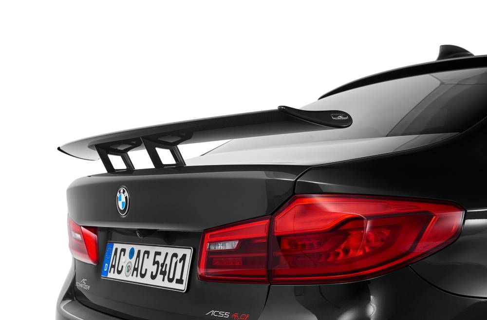 "AC Schnitzer Carbon ""Racing"" rear Wing BMW 5 Series G30 Sedan"