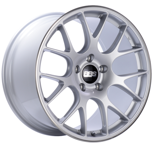 BBS CH-R 137 20x11.5 5x130 ET65 CB71.6 Brilliant Silver Polished Rim Protector Wheel