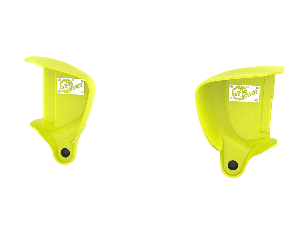 aFe Magnum FORCE Dynamic Air Scoop 15-18 BMW M3/15-20 M4 - Yellow