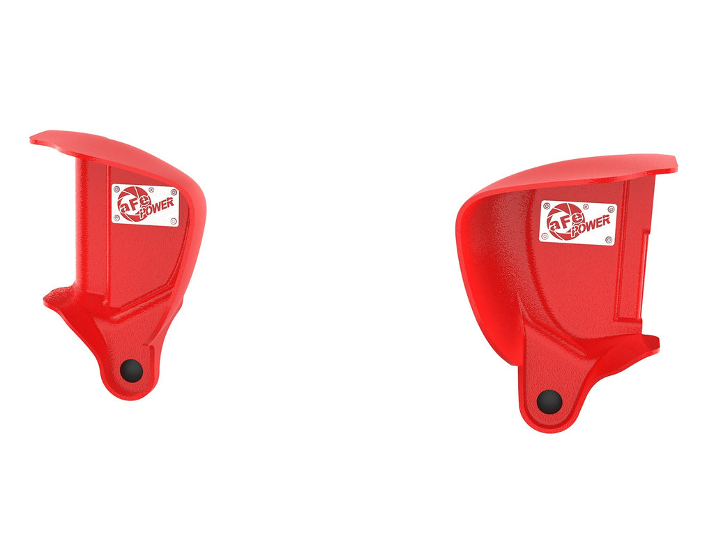aFe POWER Magnum FORCE Dynamic Air Scoops - Red BMW M3 15-18 (F80)/M4 15-20 (F82/83) S55