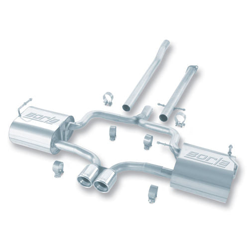 Borla 04-06 Mini Cooper S (Incl. Convertible) Cat-Back™ Exhaust Touring