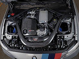 aFe POWER Track Series Stg 2 Carbon Fiber Intake w/Pro 5R Media 15-20 BMW M3/M4(F80/82/83) L6-3.0L(tt) S55