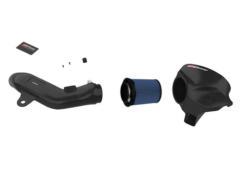 aFe POWER Black Series Momentum Carbon Fiber Cold Air Intake System w/Pro 5R Filter BMW M2 (F87) 16-18 L6-3.0L (t) N55
