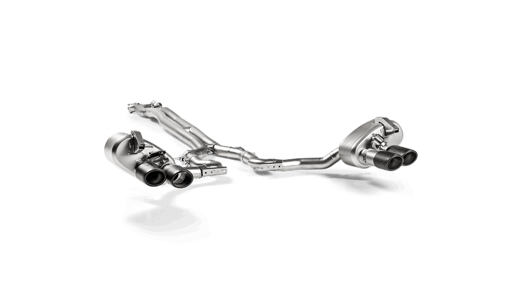 Akrapovic 17-18 Porsche Panamera Turbo Evolution Line Cat Back (Titanium) (Tips Not Incl.)