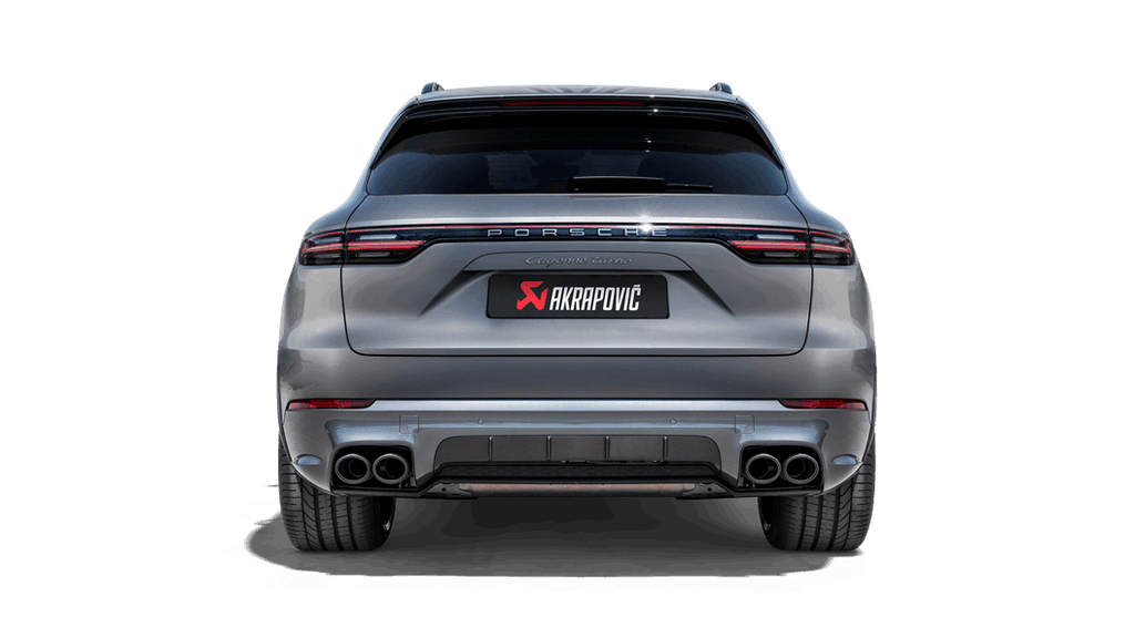 Akrapovic 2019+ Porsche Cayenne Turbo/Coupe V8 (536) Evolution Line Cat Back (Titanium - Tips Req)