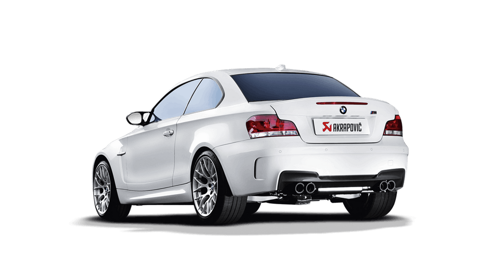 Akrapovic BMW 1 Series M Coupe (E82) Evolution Line Cat Back (Titanium) with Carbon Tips