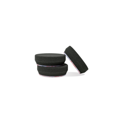 Griots Garage 3in Black Finishing Pads (Set of 3)