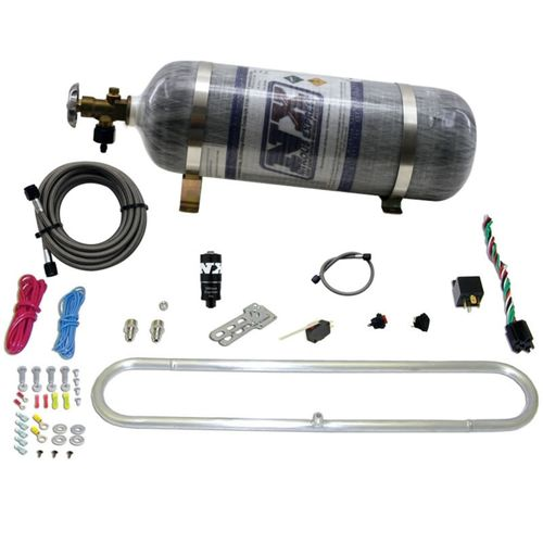 Nitrous Express N-Tercooler System for CO2 w/Composite Bottle (Remote Mount Solenoid)