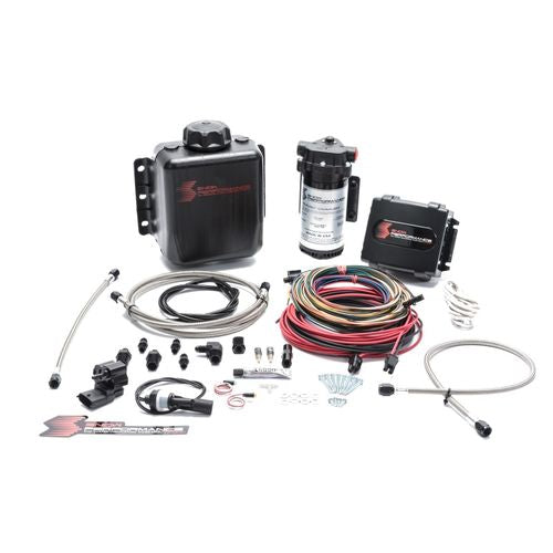 Snow Performance Stg 4 Boost Cooler Platinum Water Injection Kit (w/SS Braid Line and 4AN Fitting)