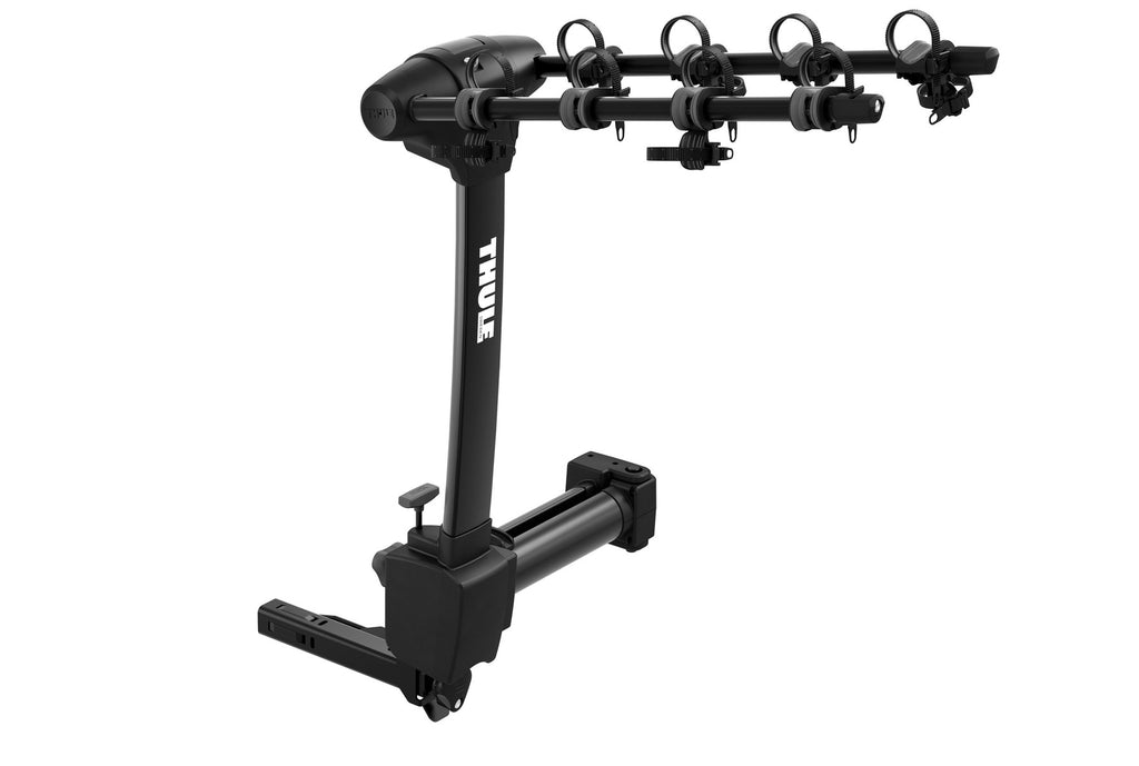 Thule Apex XT Swing 4 - Hanging Hitch Bike Rack w/Swing-Away Arm (Up to 4 Bikes) - Black