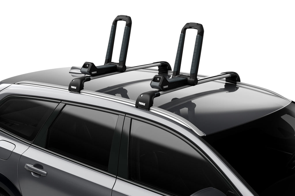 Thule Hull-A-Port Aero Kayak Carrier (Thule SquareBars Req. Adapter) - Black
