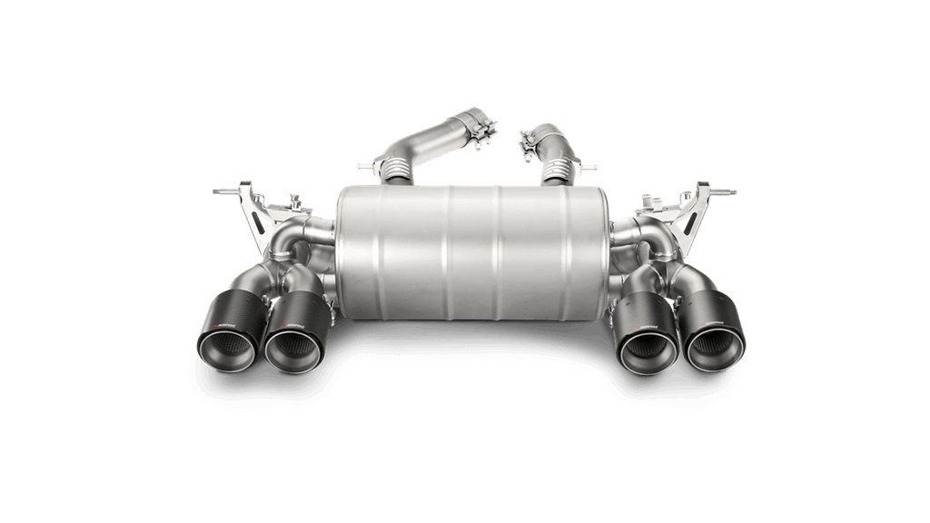 Akrapovic BMW M3/M4 (F80/F82/F83) Slip-On Line (Titanium) with Carbon Tips