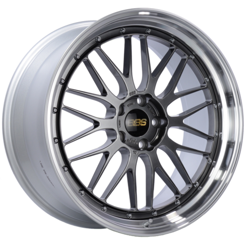 BBS LM 261 21x10 5x120 ET38 Diamond Black Center Diamond Cut Lip Wheel -82mm PFS/Clip Required