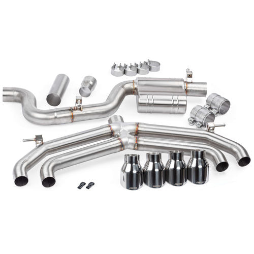 APR Catback Exhaust System (Valveless) - MK7 Golf R