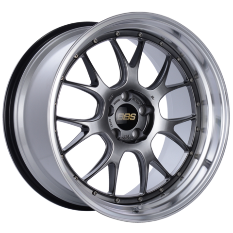 BBS LM-R 330 20x11 5x114.3 ET20 CB66 Diamond Black Center Diamond Cut Lip Wheel