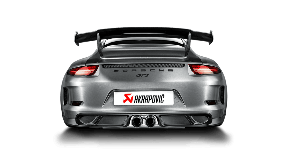 Akrapovic 14-17 Porsche 911 GT3 (991) Slip-On Line (Titanium) (Req. Tips)