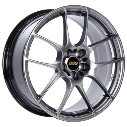 BBS RF 517 18x8 5x120 ET48 Diamond Black Wheel -82mm PFS/Clip Required