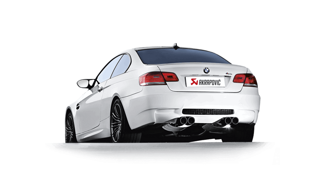 Akrapovic BMW M3 (E92/E93) Evolution Line Catback (Titanium) with Carbon Tips
